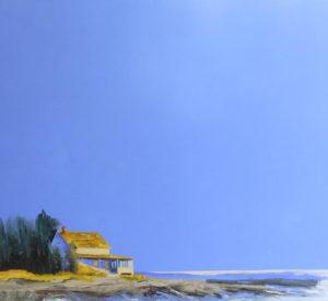 Blue Island Skies by Janis Sanders
